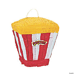 "Papier-Mâché Movie ""Popcorn"" Piñata"