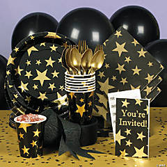 Gold Foil Star Party Supplies