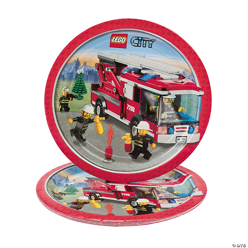sc 1 st  Oriental Trading & Lego® City Dinner Plates - Discontinued