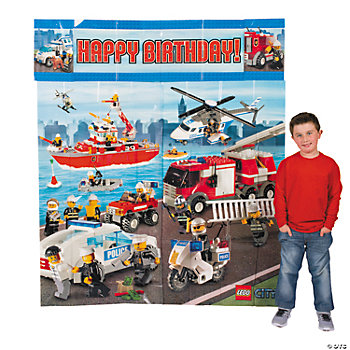 5 Pc. Lego® City Scene Setter Wall Decorating Kit