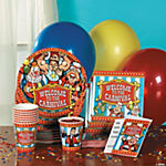 Big Top Tableware & Invitations