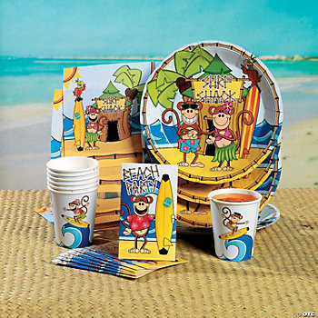 Beach Monkey Tableware & Invitations