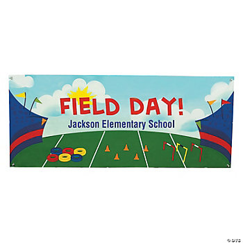 Personalized Field Day Banner Small Oriental Trading