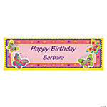 Personalized Butterfly Banner - Small