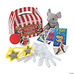 Under-The-Big-Top Filled Carnival Treat Boxes