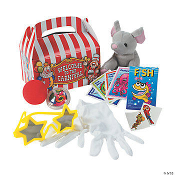 Under-The-Big-Top Filled Treat Boxes (8 pcs.)