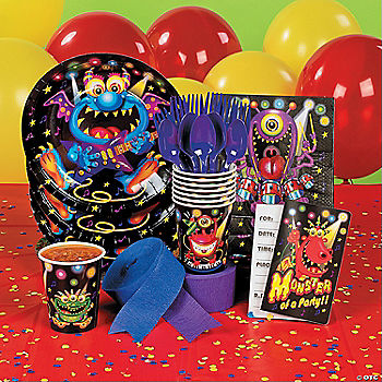 Monster bash party supplies oriental trading