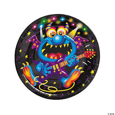 Monster Bash Dinner Plates