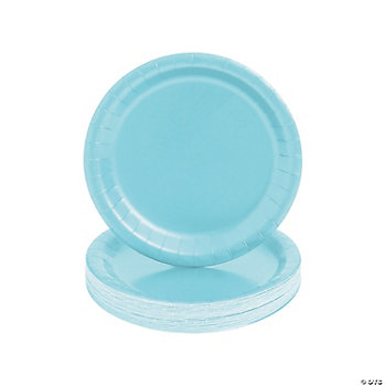 Light Blue Dessert Plates