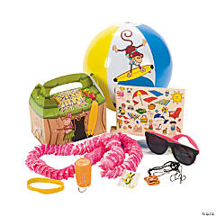 Beach Monkey Filled Treat Box - 1 box