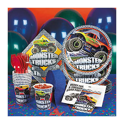 Monster Trucks Basic Party Pack