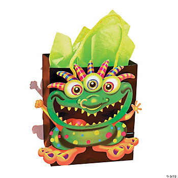 Paper Monster Bash Die-Cut Treat Bags