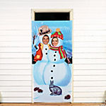 Snowmen Photo Door Banner