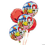 1st Birthday Farm Mylar Balloon Set