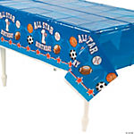 """All Star 1st Birthday"" Tablecloth"