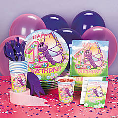 Butterfly 1st Birthday Basic Party Pack