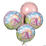 Butterfly 1st Birthday Balloon Set