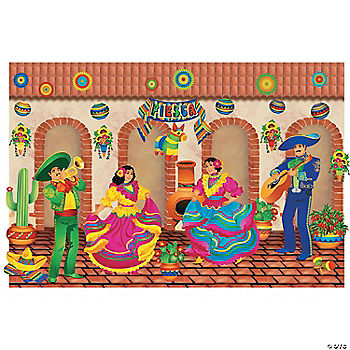 designaroom fiesta wall backdrop oriental trading