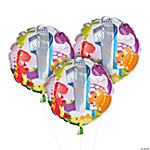 Dinosaur First Birthday Mylar Balloons