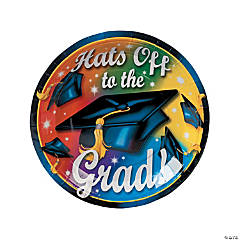 """Hats Off To The Grad!"" Party Tableware"