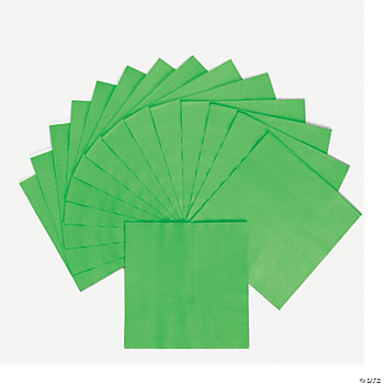 Neon Green Luncheon Napkins