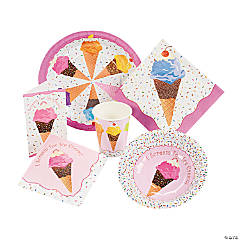 I Scream For Ice Cream Tableware
