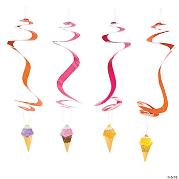 I Scream For Ice Cream Dangling Swirls