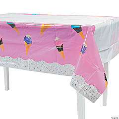I Scream For Ice Cream Table Cover