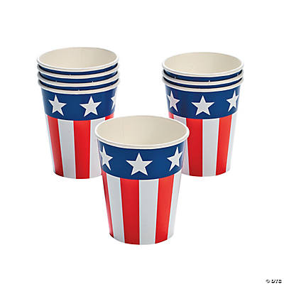 Patriotic Flag Cups