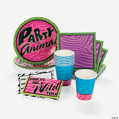 """Party Animal"" Tableware"