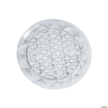 Diamond Cut Round Trays - 13""