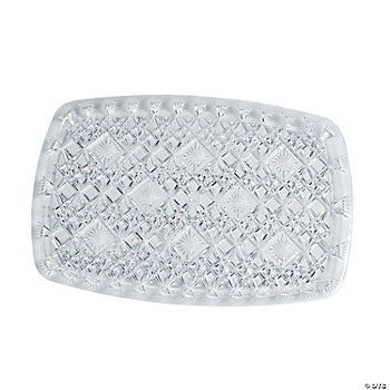 Diamond Cut Rectangular Trays - Medium