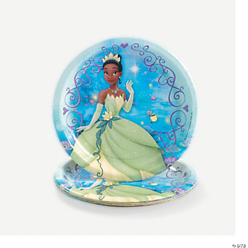 The Princess and the Frog Dessert Plates