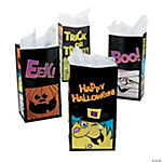 Boo Bunch Halloween Treat Bags - 12 pcs.