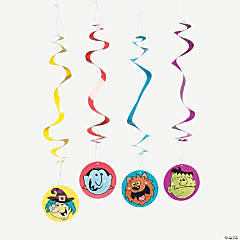 "12 ""Boo Bunch"" Dangling Swirls"