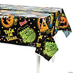 """Boo Bunch"" Halloween Tablecloth"