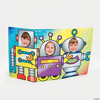 Robot Cutout Photo Stand