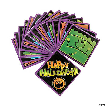 """Boo Bunch"" Beverage Napkins"