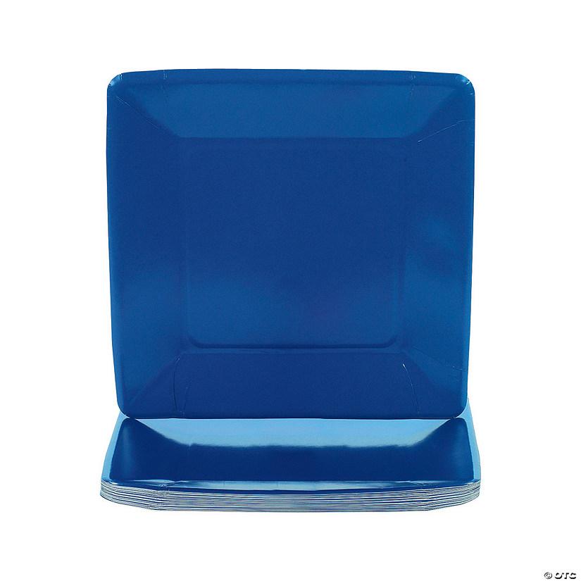 sc 1 st  Oriental Trading & Square Dinner Plates - Navy Blue