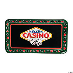 "6 Pc. ""Casino"" Disposable Tray Set"