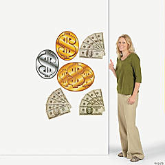 6 Money/Dollar Sign Cutouts
