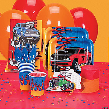 Race Car Basic Party Pack