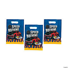 8 Race Car Treat Bags