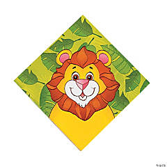 Zoo Animal Luncheon Napkins