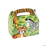 12 Zoo Animal Treat Boxes