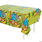 Zoo Animal Table Cover