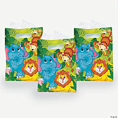 8 Zoo Animal Treat Bags