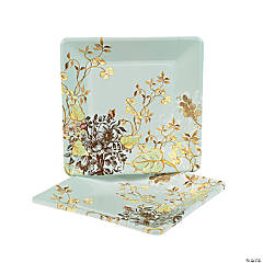 Meadow Sweet Square Banquet Plates