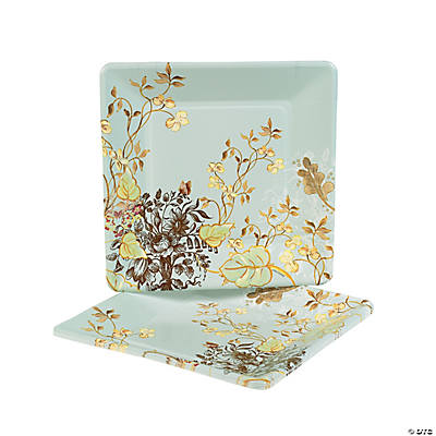 Meadow Sweet Square Dinner Plates