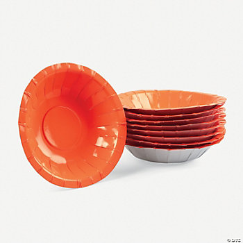Neon Orange Bowls